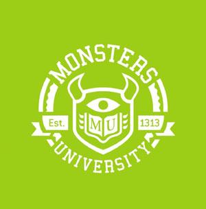 """""""怪兽大学""""(Monsters University)招生广告病毒视频"""