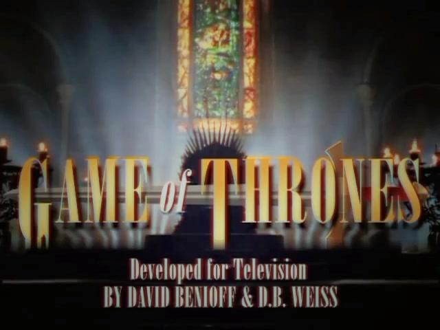 假如《权力的游戏》(Game of Thrones)是一部90年代电视剧