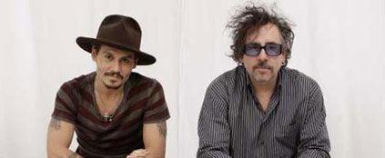 蒂姆·伯顿(Tim Burton)约翰尼·德普(Johnny Depp)
