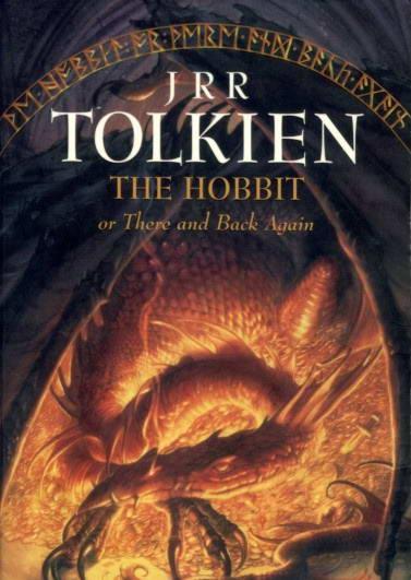 《霍比特人》小说封面