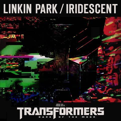 《变形金刚3》主题曲《彩虹光芒:混音版(Iridescent Remix)》单曲封套