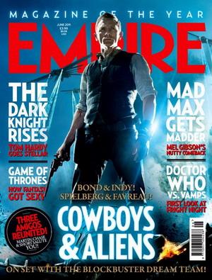 《牛仔和外星人》《帝国》封面