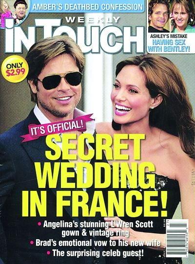 曝朱莉皮特9月法国完婚 已着手拟定宾客名单