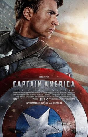 《美国队长》最新预告片和海报发布!