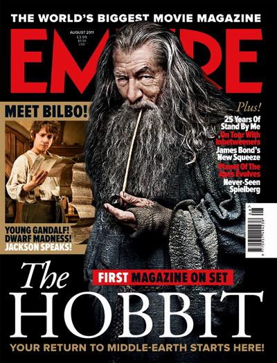 《霍比特人》登上《帝国》杂志封面
