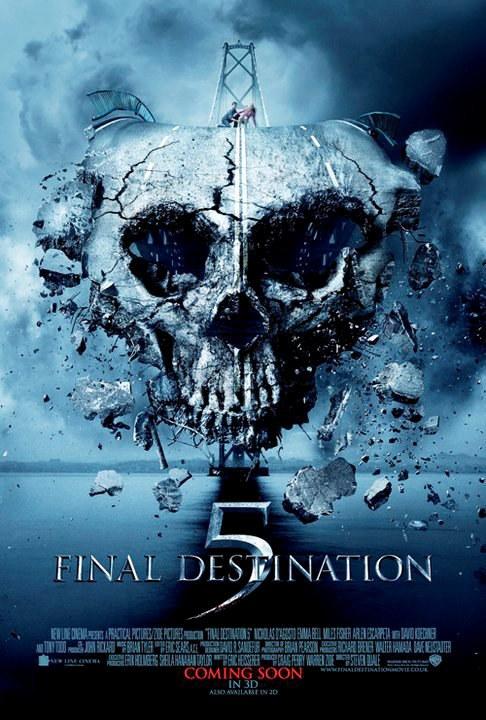 《死神来了5》再发新海报 8月将释放恐惧