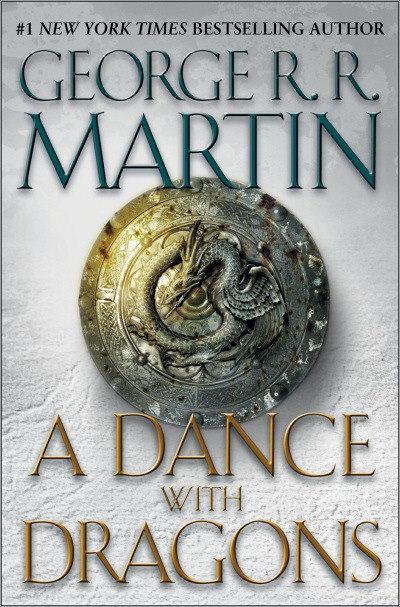 乔治·R·R·马丁(George R.R. Martin)的《冰与火之歌》系列的第五部《魔龙狂舞》(A Dance with Dragons)