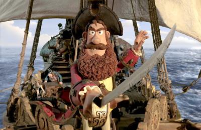 阿德曼公司有粘土动画海盗片《神奇海盗团》
