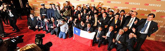 《黑天鹅》制片人将拍33名智利受困矿工影片