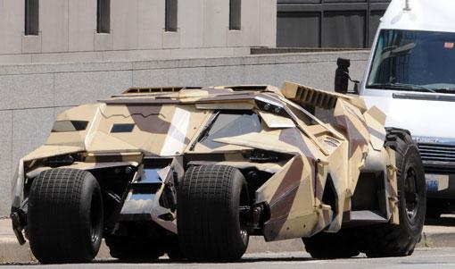 3辆蝙蝠车出现在匹兹堡《黑暗骑士崛起》片场[V]