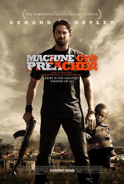 《机关枪传教士》预告 杰拉德·巴特勒变非洲救赎者