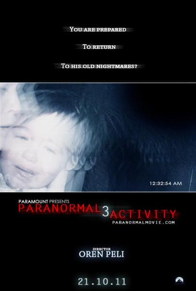 鬼影实录3-Paranormal Activity 3(2011)中文预告片-追溯三部曲源头