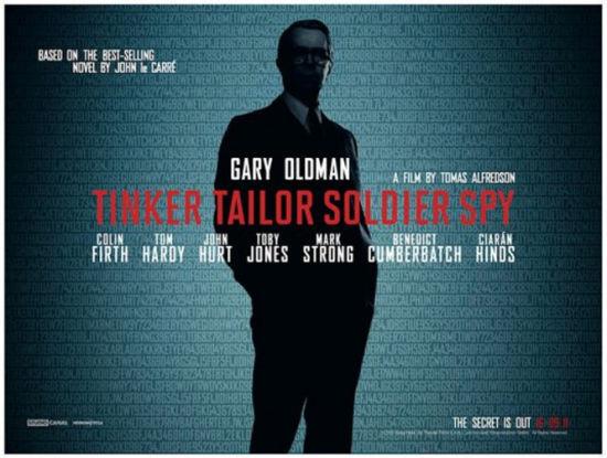 锅匠,裁缝,士兵,间谍(Tinker Tailor Soldier Spy)影评以及剧情剖析