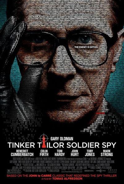 《锅匠,裁缝,士兵,间谍》美版海报预告齐发