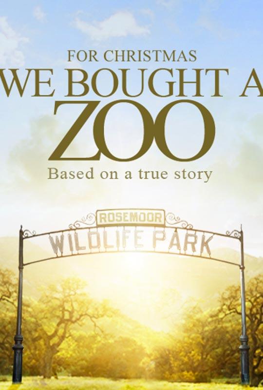马特达蒙与斯嘉丽新片《我家买了动物园》海报 预告 [V]