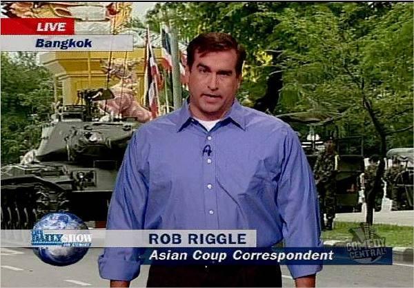曾经在《囧司徒每日秀》中有过演出的罗伯·里格尔