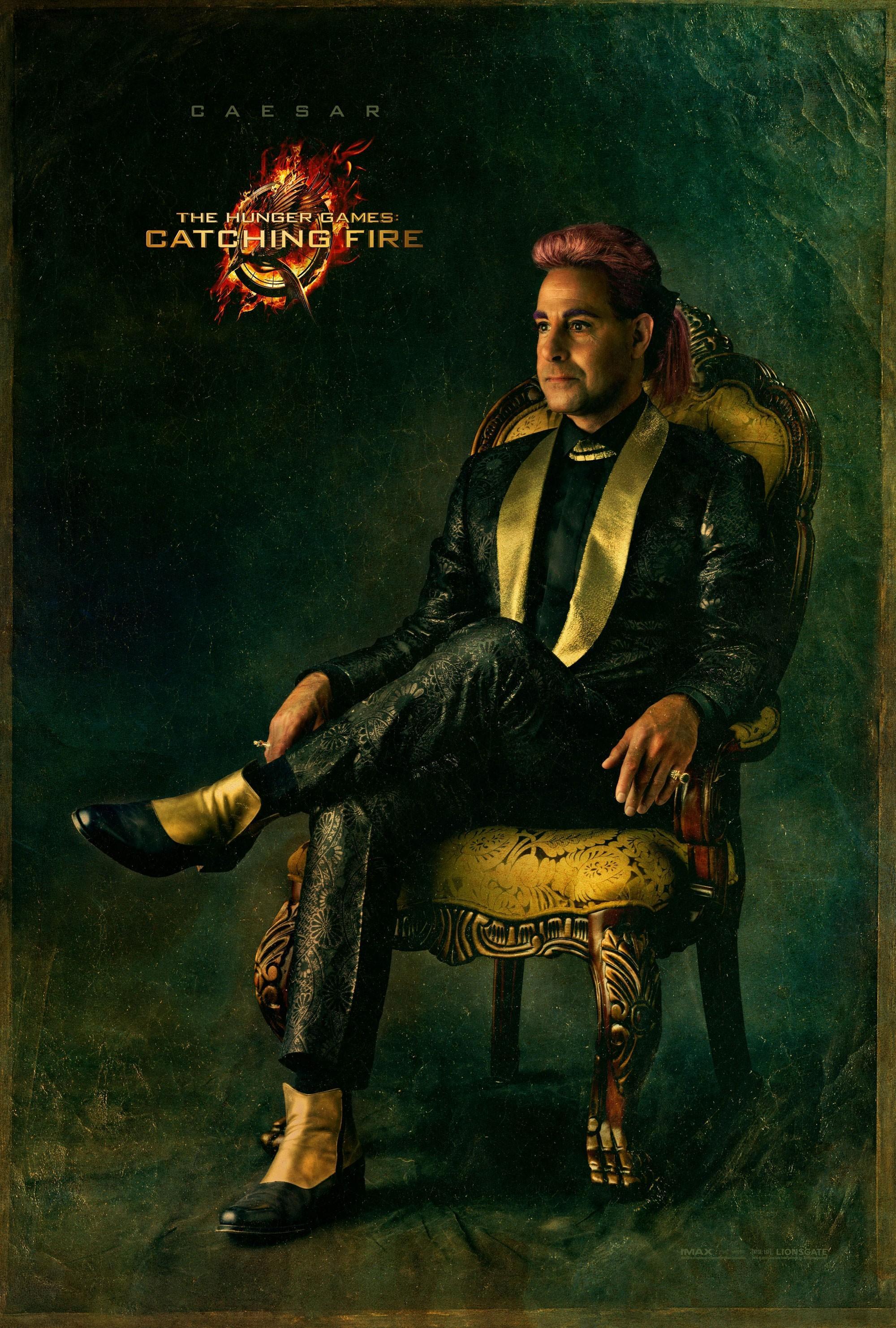 《饥饿游戏:星火燎原》(The Hunger Games: Catching Fire)曝角色海报