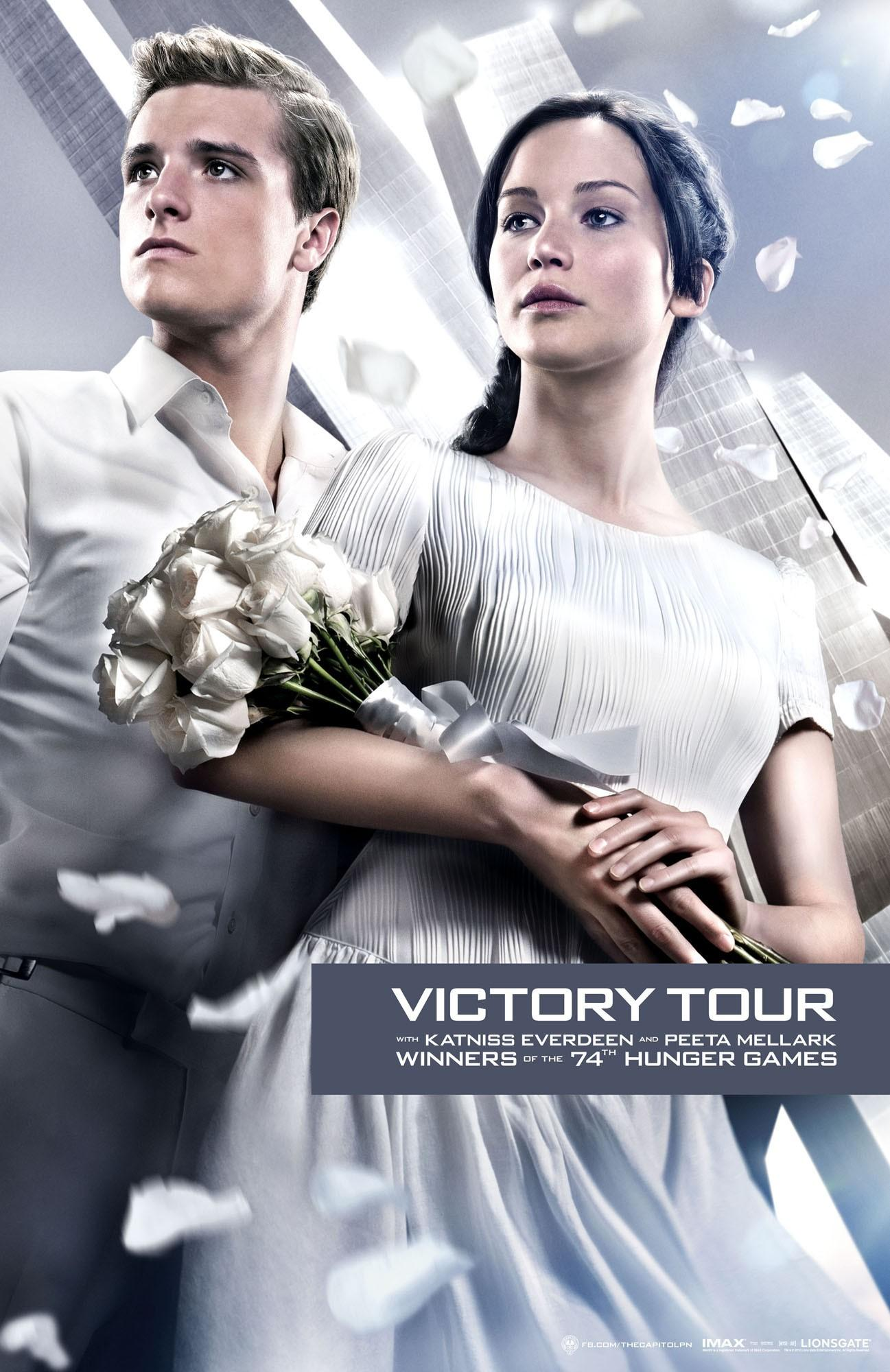 《饥饿游戏:星火燎原》(The Hunger Games: Catching Fire)预告片发布