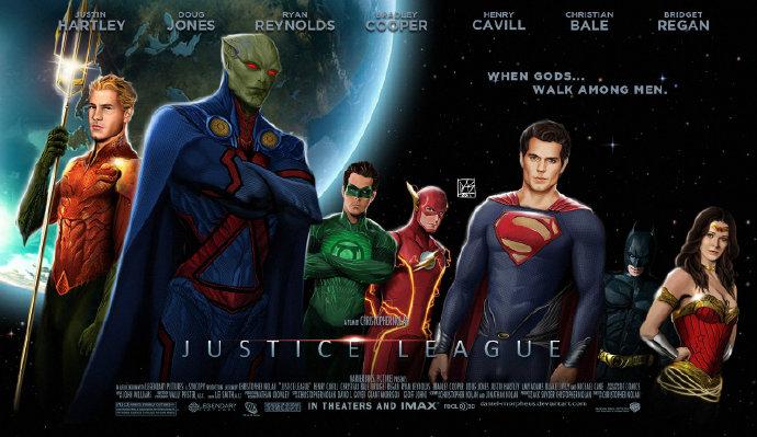传克里斯托弗·诺兰将监制《正义联盟》(Justice League)电影