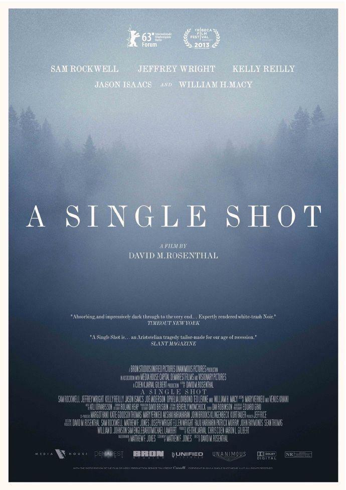 《致命一击》(A Single Shot)首曝预告 柏林影帝山姆·洛克威尔领衔