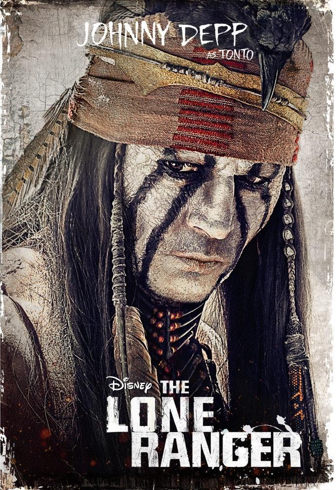 约翰尼·德普《游侠传奇》(The Lone Ranger)预告片 #3