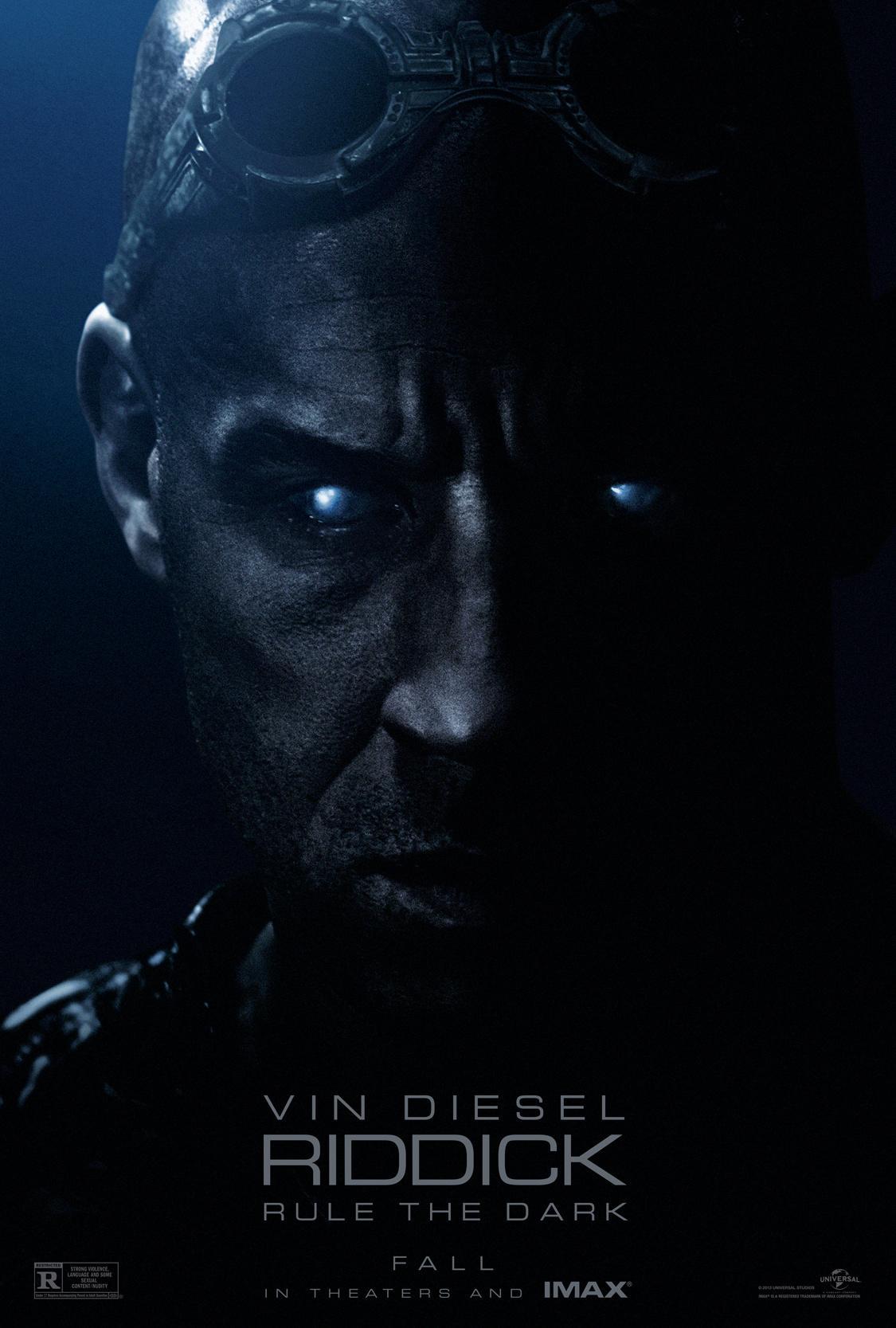 《星际传奇3》(Riddick)曝全长预告 范·迪塞尔激战异星妖兽