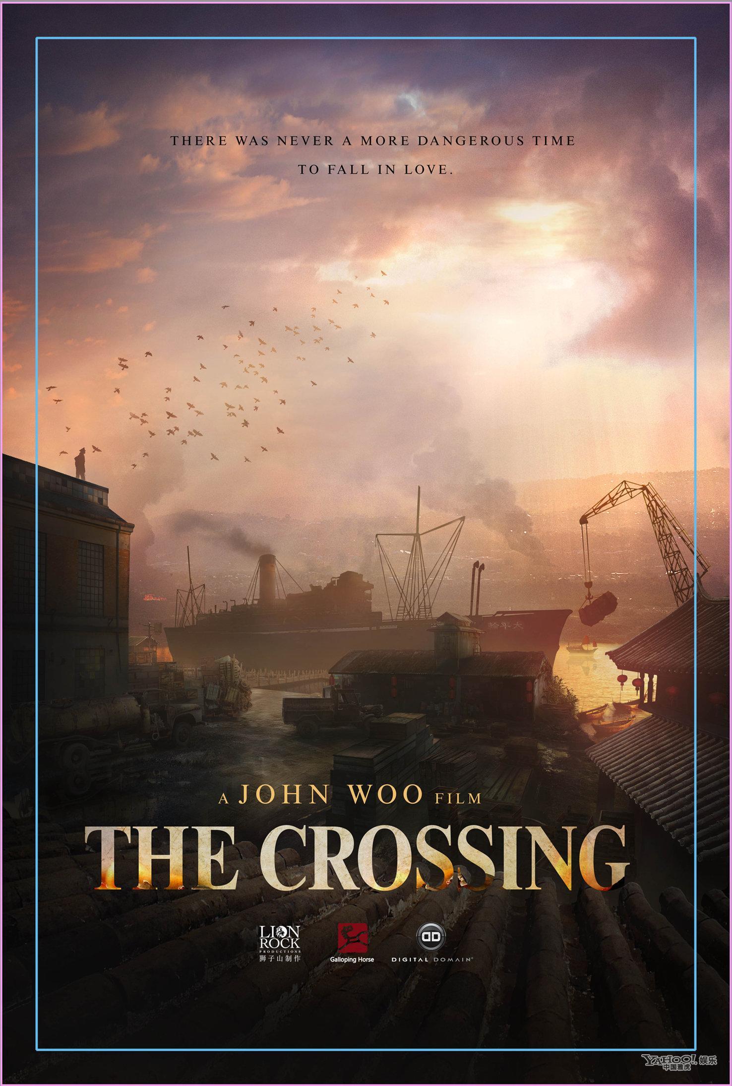 吴宇森新作《THE CROSSING》戛纳启动 首发概念海报