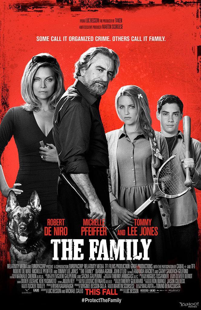吕克·贝松自编自导马丁·斯科塞斯监制《他们全家都是黑帮》(The Family)首发预告