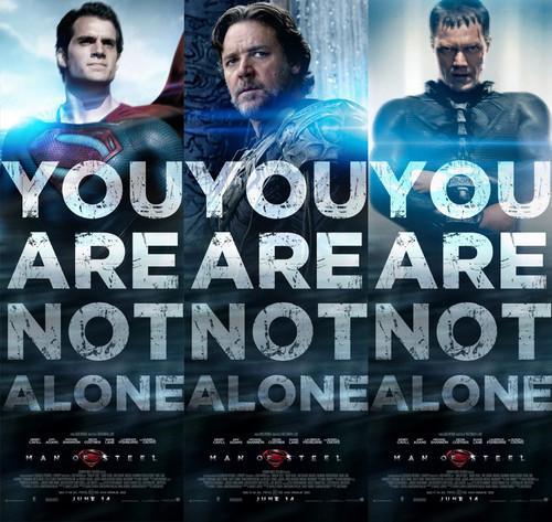 《超人:钢铁之躯》特别版海报 诺基亚特别版预告 宏大配乐奏响英雄史诗