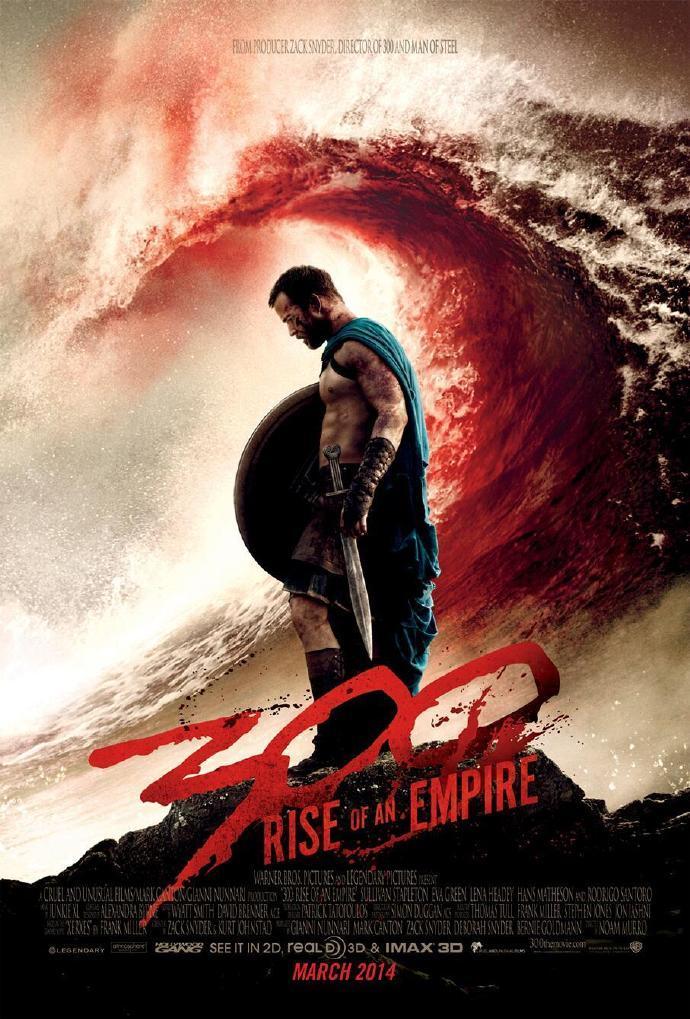 《300勇士:帝国崛起》(300: Rise of an Empire)首曝预告 浓墨重彩渲染海战史诗