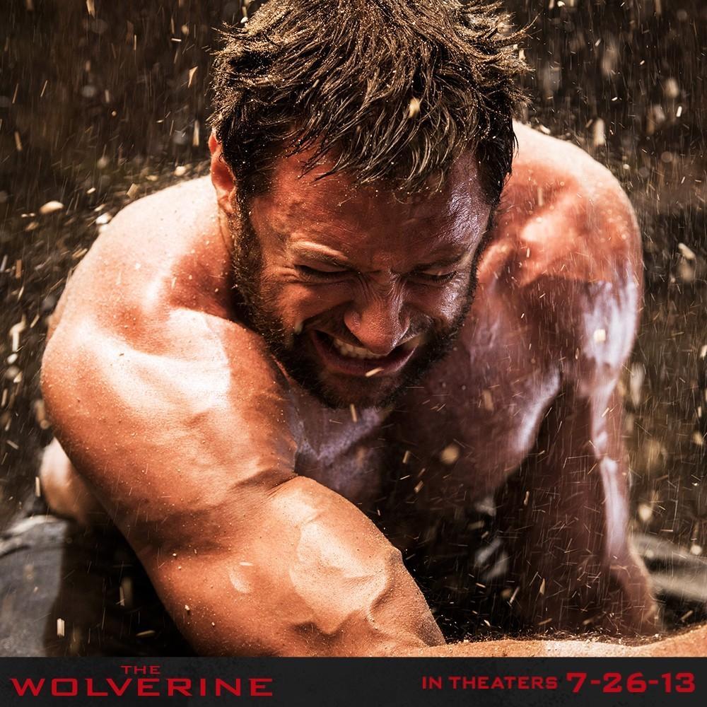 《金刚狼2》(The Wolverine)新宣传照 休叔表情愤怒青筋暴起