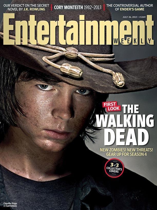 《行尸走肉》(The Walking Dead)三款最新娱乐周刊封面 秋季回归
