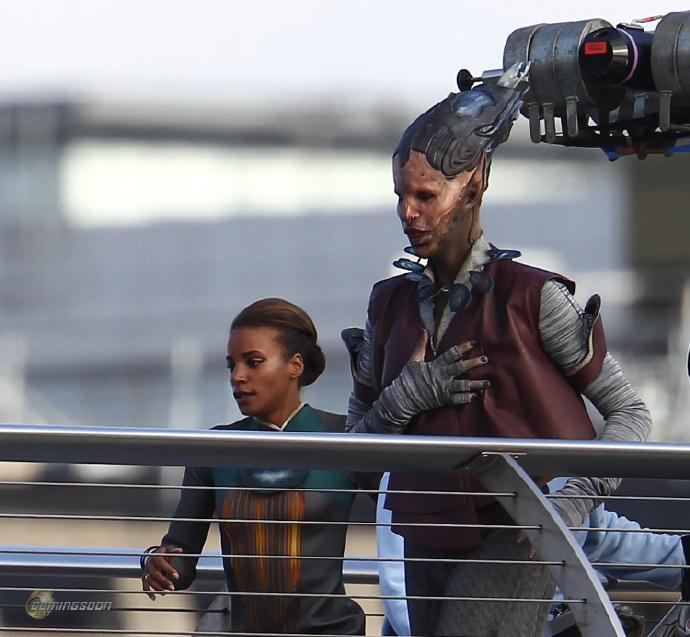 漫威《银河护卫队》(Guardians of the Galaxy)首曝片场照片