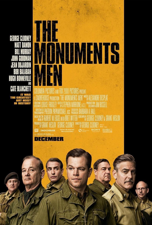 《古迹卫士》(The Monuments Men)新曝预告#2 克鲁尼率老帮伙为艺术献身
