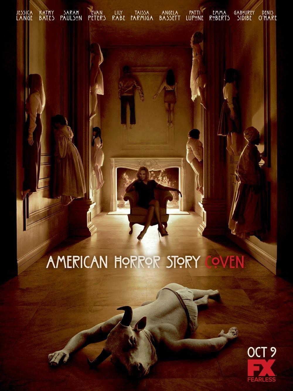 《美国怪谭:女巫团》曝正式海报以及预告 新老女巫大亮相