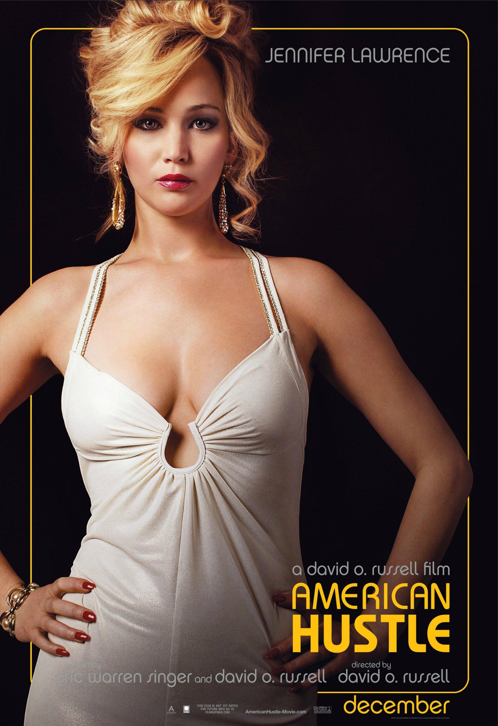 《美国骗局》(American Hustle)角色海报以及预告#2 贝尔再秀体重超能力