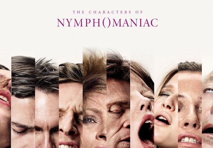 """《女性瘾者》(The Nymphomaniac)首曝角色海报 众主演全裸展现""""性福时刻"""""""