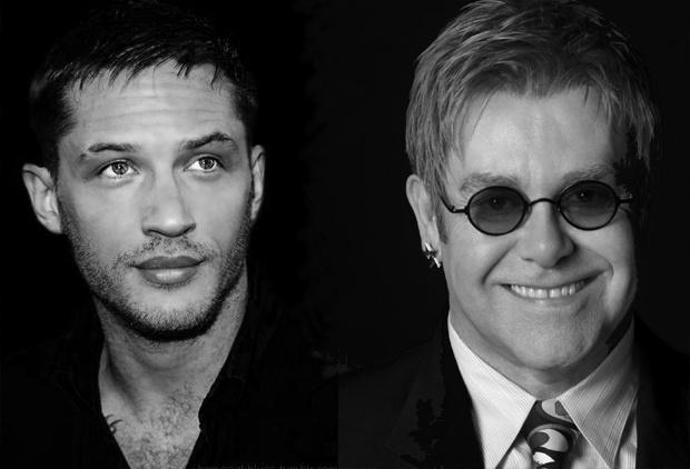 汤姆·哈迪(Tom Hardy)将扮演流行乐巨星艾尔顿·约翰(Elton John)