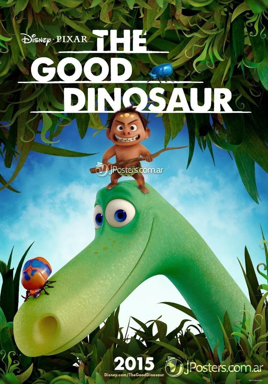 皮克斯《恐龙当家》(The Good Dinosaur)首曝海报 人龙好友展露真容