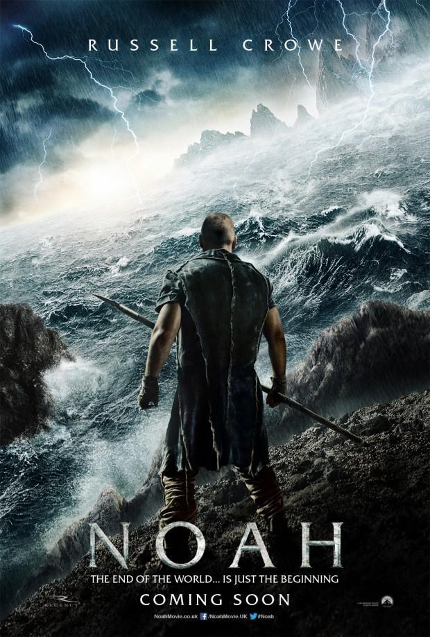 《诺亚方舟:创世之旅》(Noah)首曝预告 《黑天鹅》导演再现圣经史诗