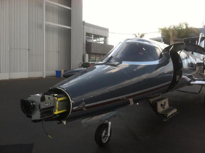 克里斯托弗·诺兰《星际穿越》(Interstellar)热拍 将IMAX摄影机绑上飞机