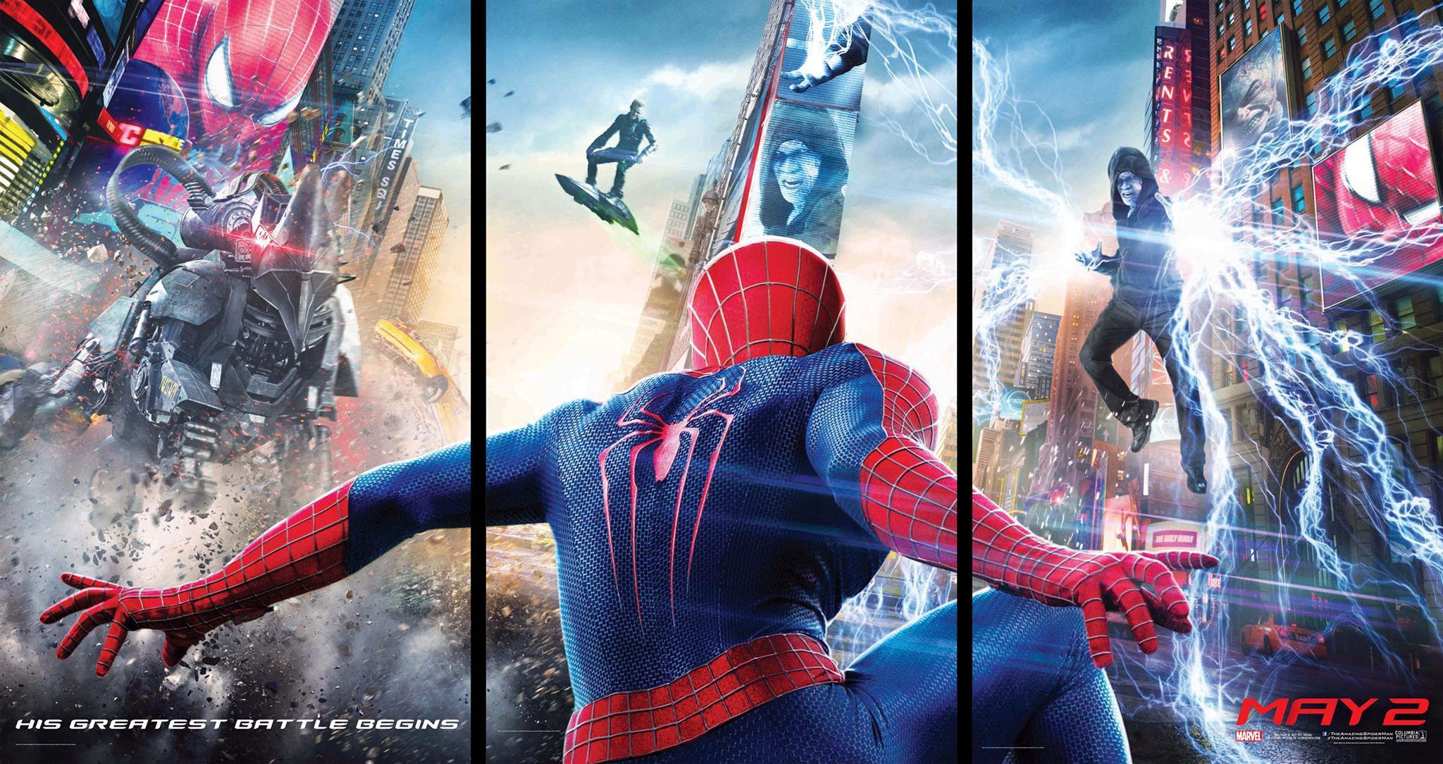 《超凡蜘蛛侠2》预告首发 电光人宣战彩蛋引出六大反派