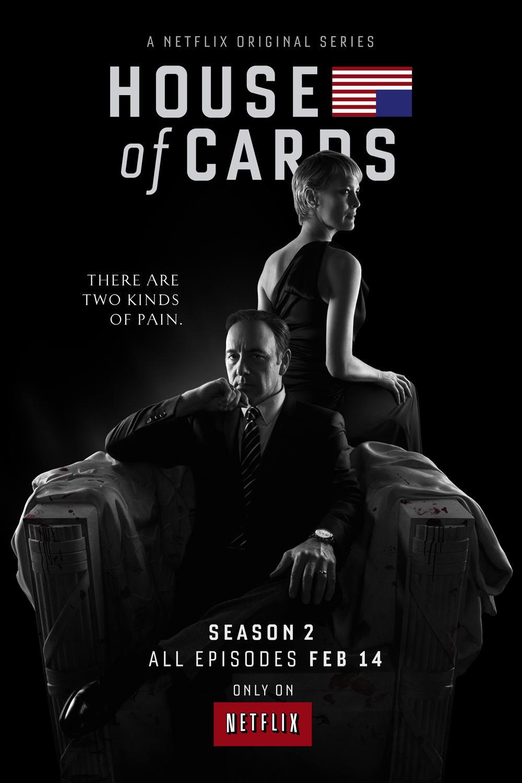 《纸牌屋》(House of Cards)曝第2季最新预告 政治游戏血腥升级