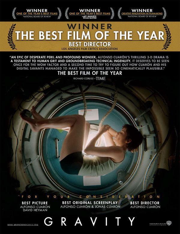 英国奥斯卡英国影视艺术学院(BAFTA)奖提名公布 《地球引力》领跑