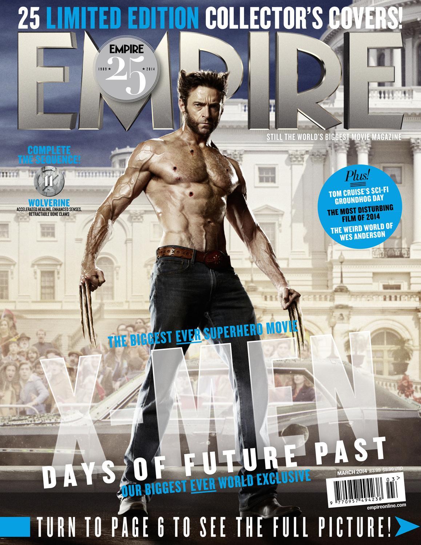 《帝国》杂志庆祝25周年 推出25款《X战警:逆转未来》封面【陆续更新】