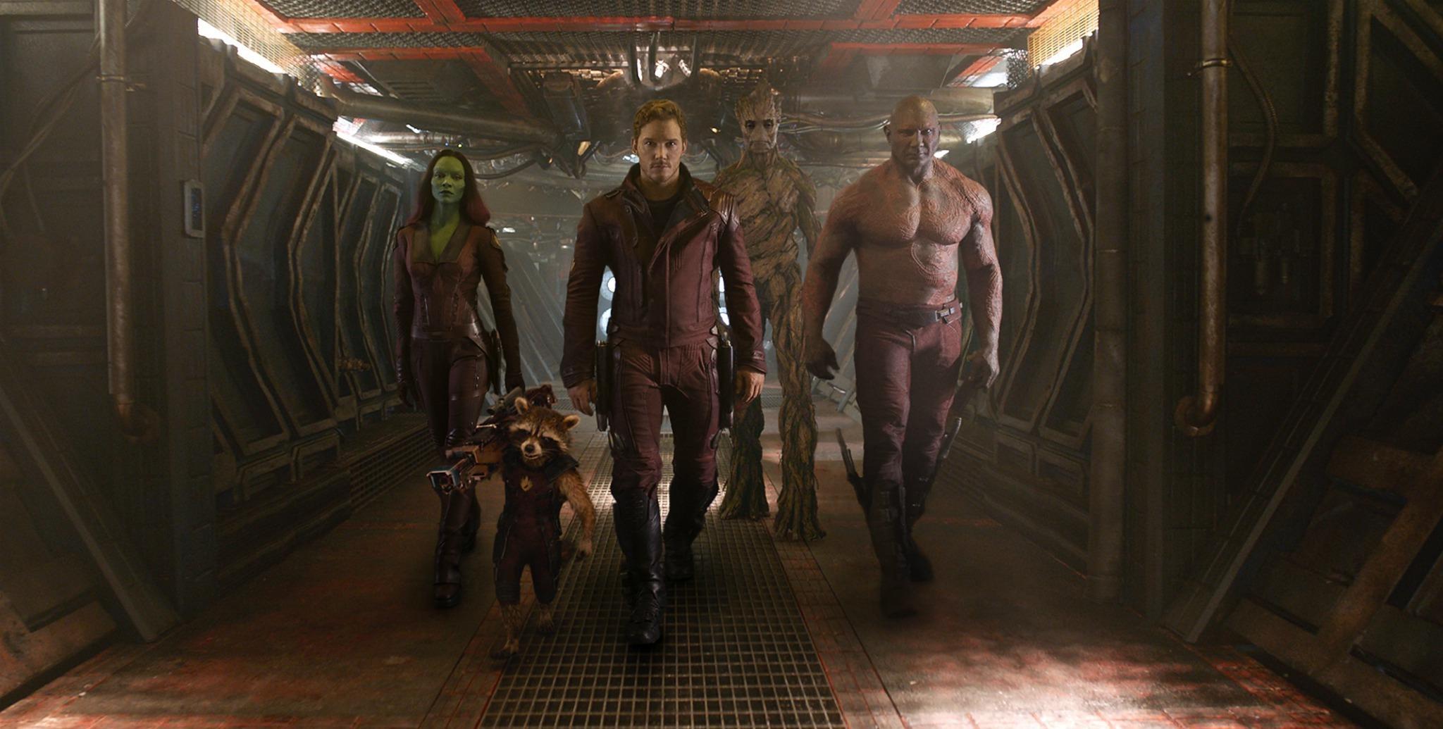 漫威《银河护卫队》(Guardians of the Galaxy)预告首发