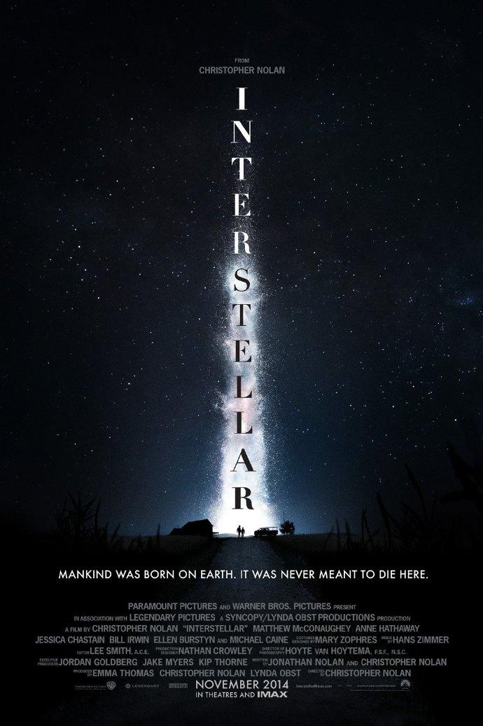 诺兰《星际穿越》终极预告发布 麦康纳、海瑟薇踏上神秘外星