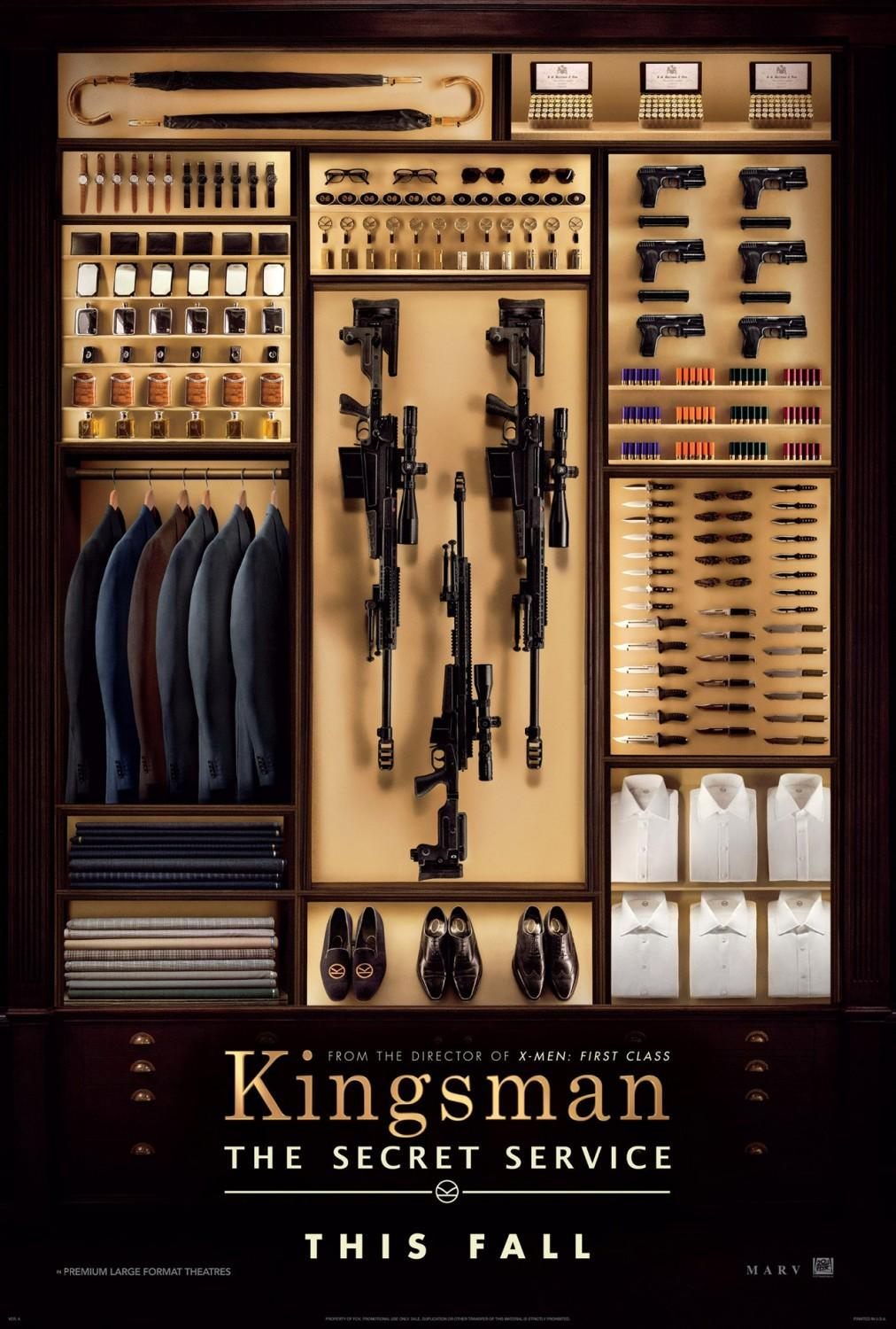 """海扁王""导演新作《特勤局》(Kingsman: The Secret Service)首曝预告"