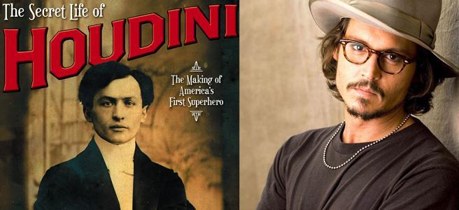 德普将出演大魔术师胡迪尼 打造印第安纳·琼斯式神秘人生