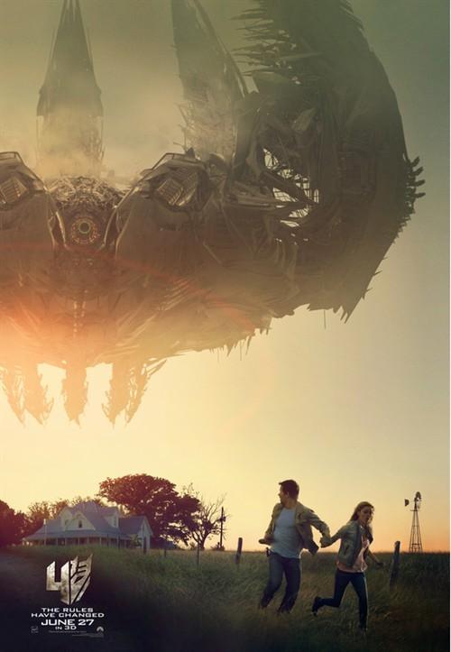 《变形金刚4》新预告片机器恐龙再曝新画面
